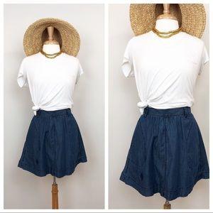 GAP Denim Skirt • Swing Mini